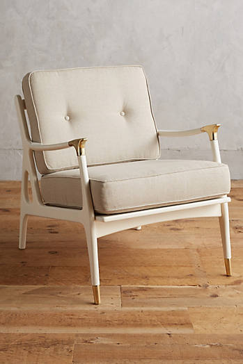 Slide View: 1: Lacquered Haverhill Chair