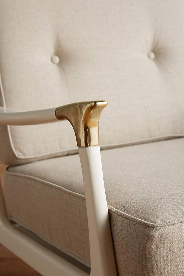 Slide View: 3: Lacquered Haverhill Occasional Chair