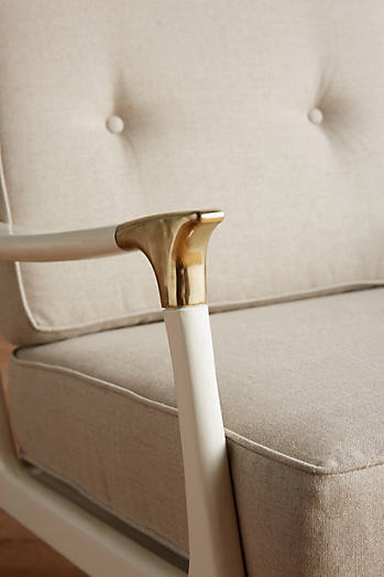 Slide View: 3: Lacquered Haverhill Chair