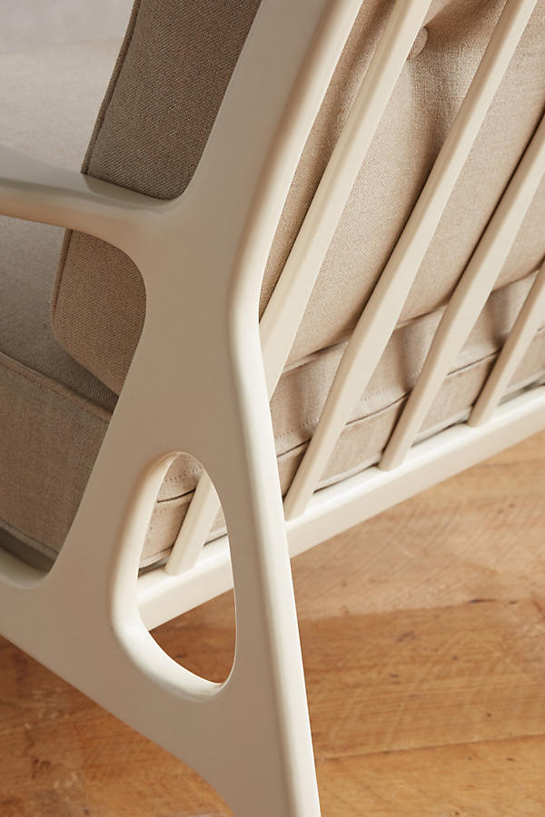 Slide View: 4: Lacquered Haverhill Occasional Chair