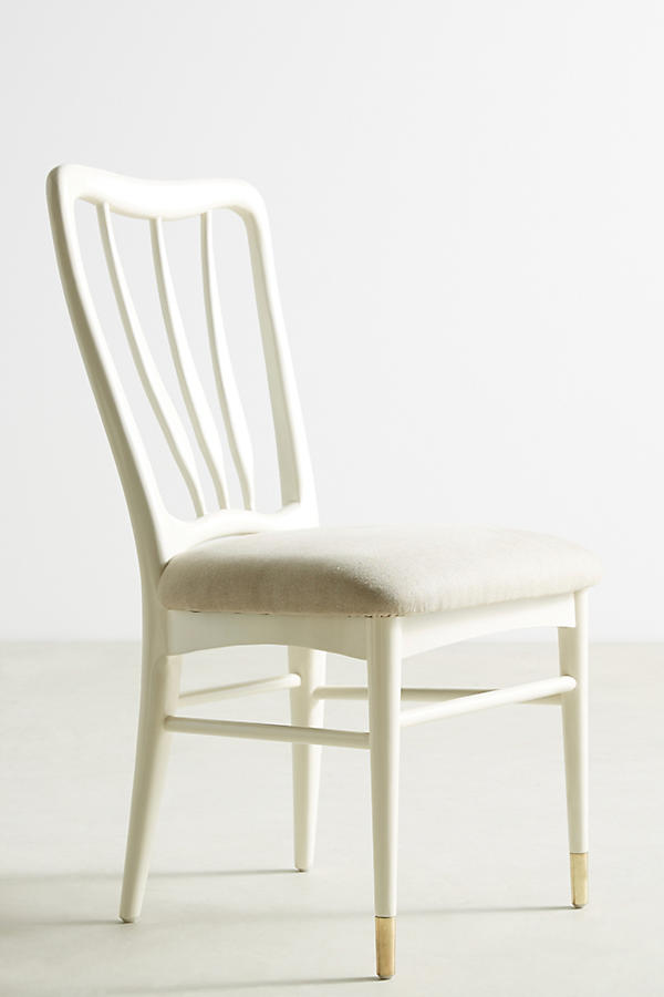 Slide View: 1: Lacquered Haverhill Dining Chair - Lacquered Haverhill Dining Chair Anthropologie