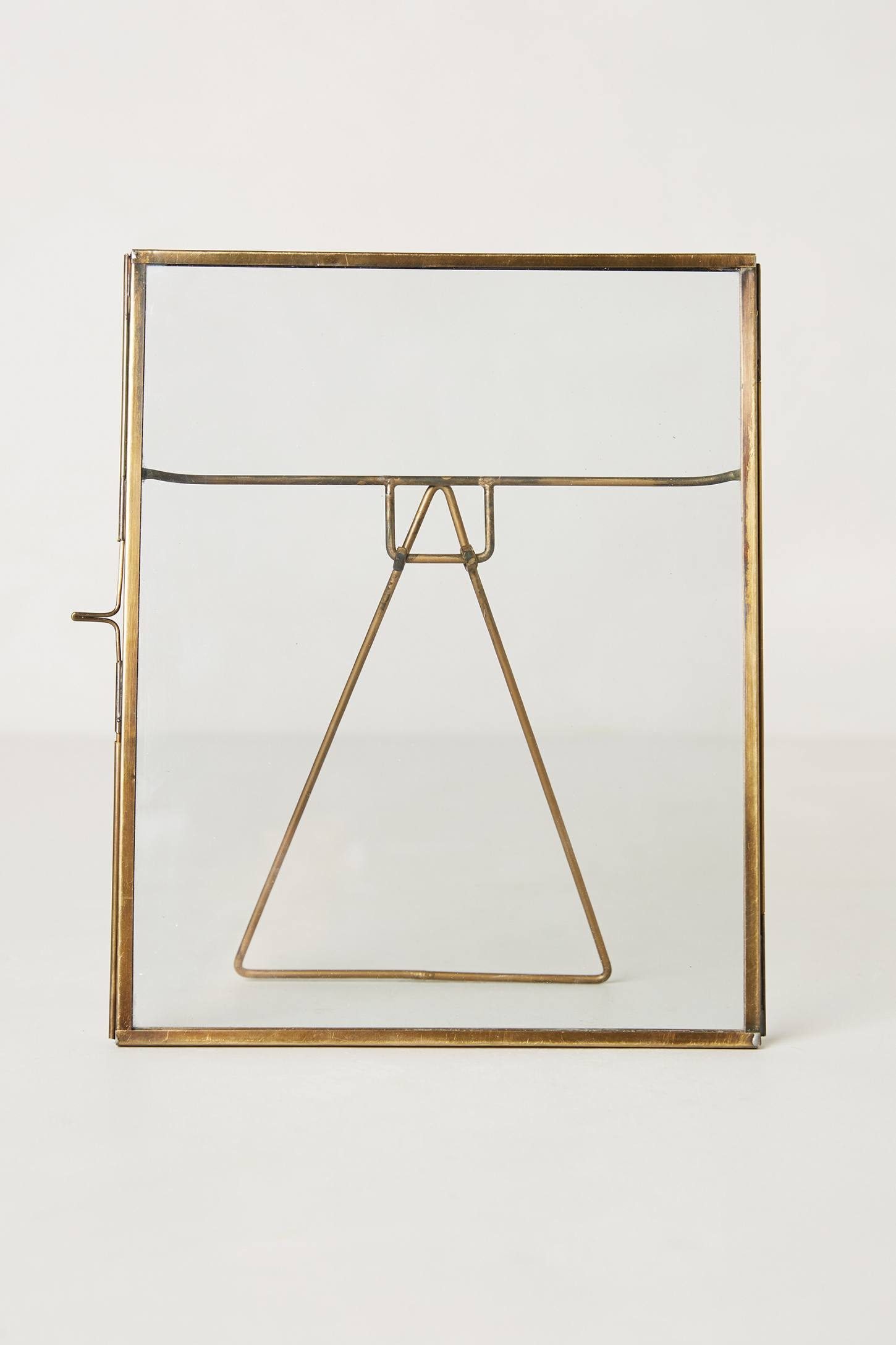 Pressed glass photo frame anthropologie