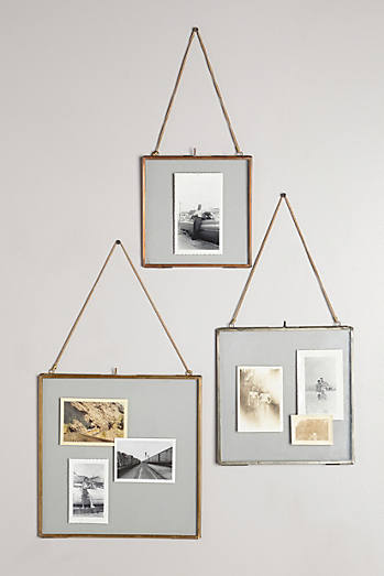 Hinged Hanging Picture Frame
