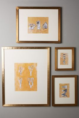 minimalist gallery frame anthropologie
