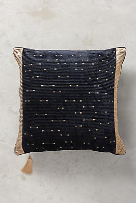 Slide View: 1: Embroidered Nadiyah Pillow