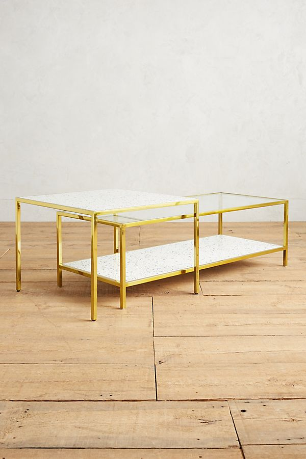 Framed Terrazzo Coffee Tables Anthropologie