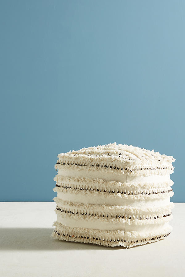 Slide View: 1: Moroccan Wedding Pouf