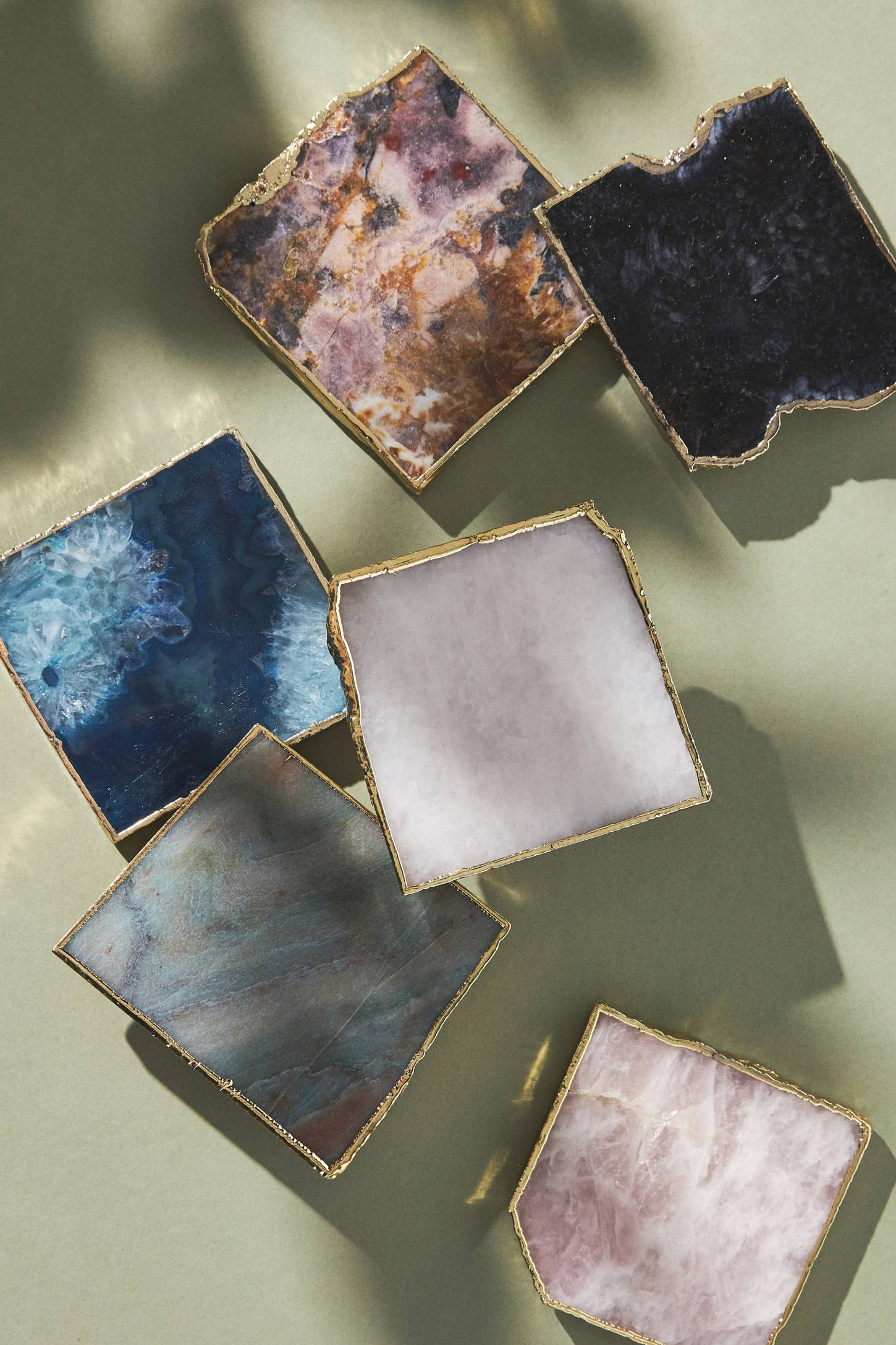 Agate Coaster | Anthropologie