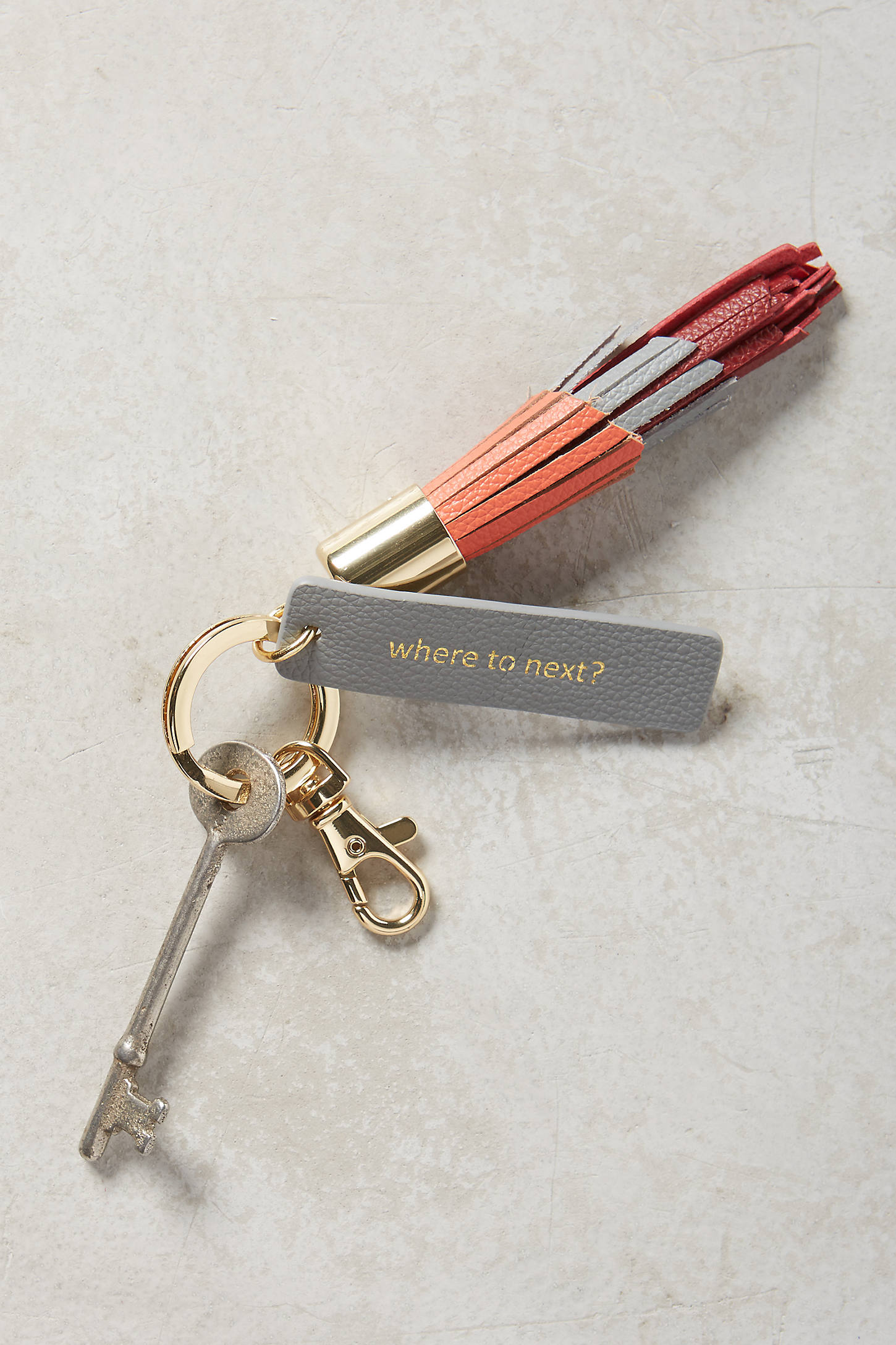 Idiom Keychain