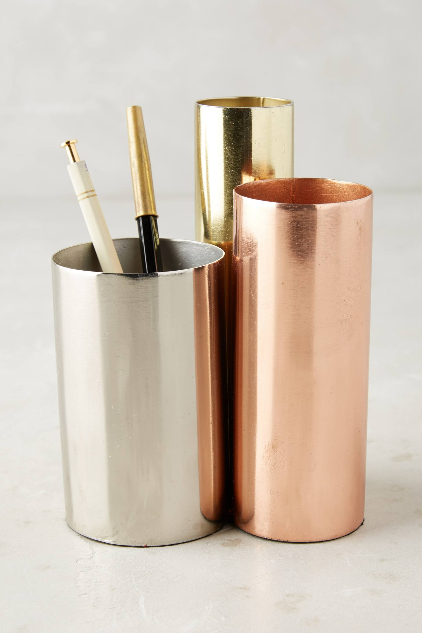 Slide View: 1: Luster Trio Pencil Holder