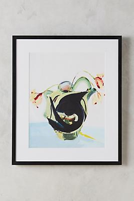 Fish And Vase Wall Art
