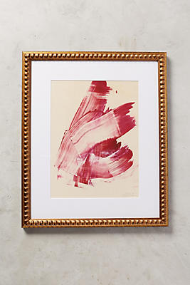 Hot Pink Abstract Wall Art