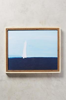 Sailboat Wall Art sea sailboat wall art | anthropologie