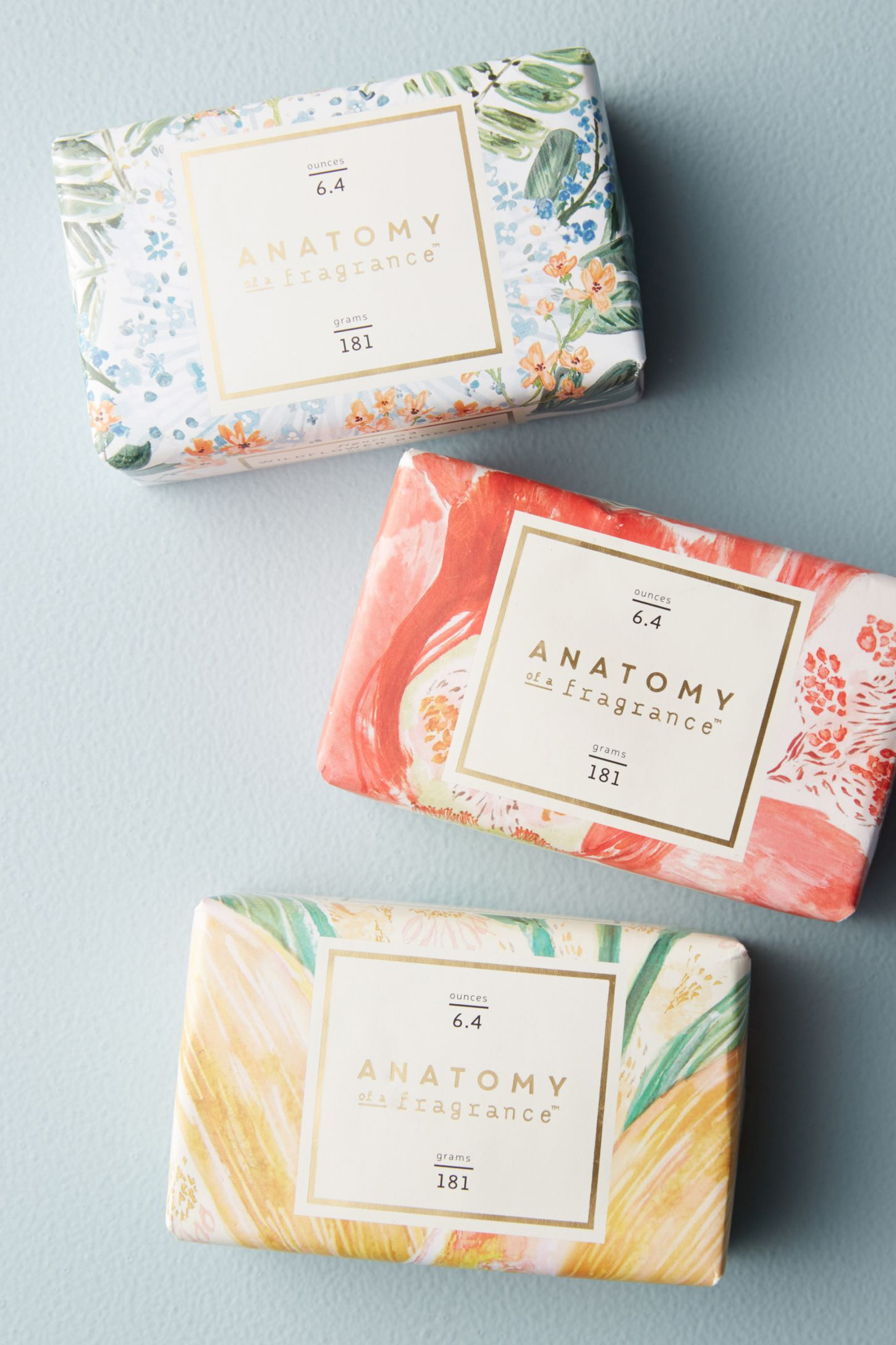 Anatomy Of A Fragrance Bar Soap | Anthropologie