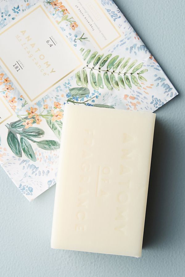 Anatomy Of A Fragrance Bar Soap | Anthropologie