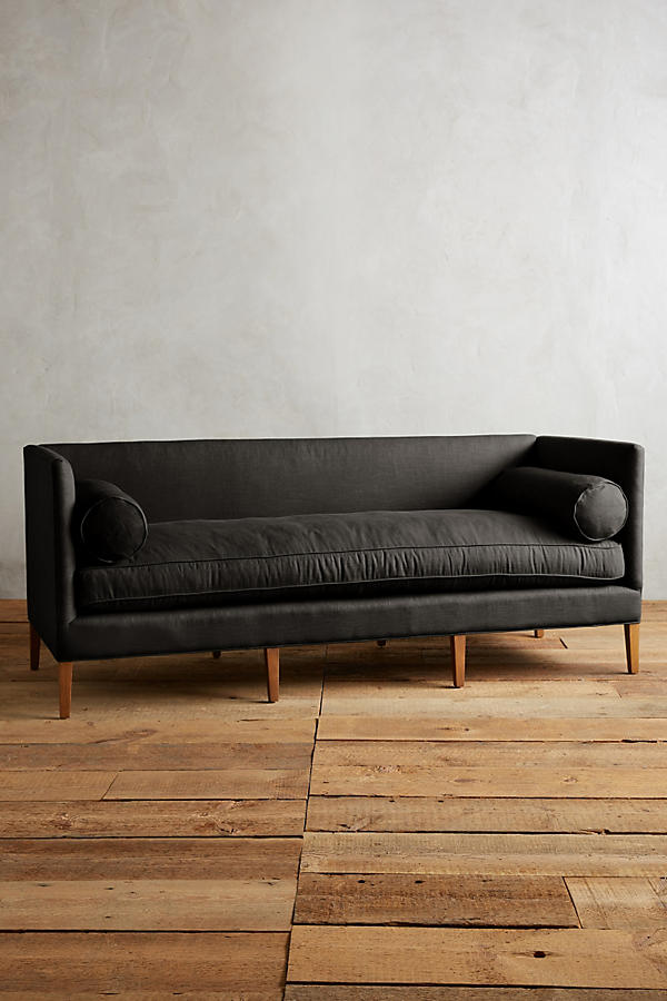 Slide View: 1: Linen Harper Sofa