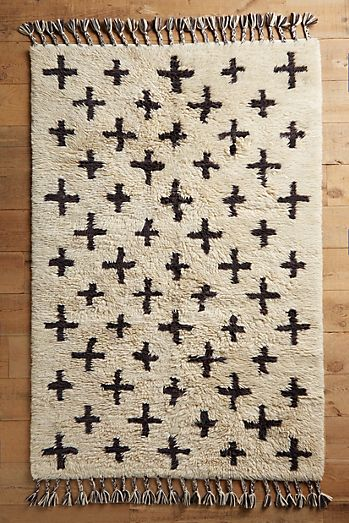 Moroccan Cross Rug