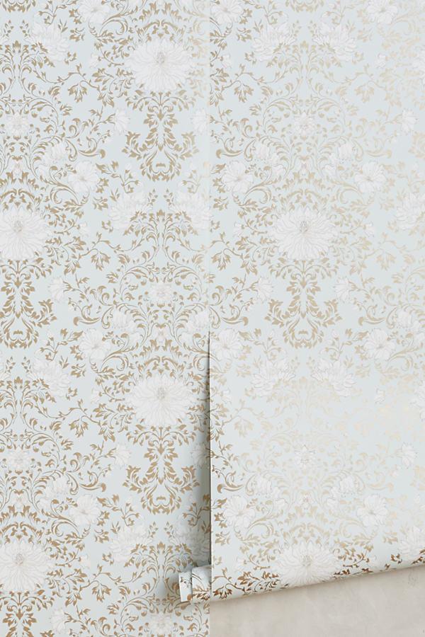 Araminta Wallpaper - Blue