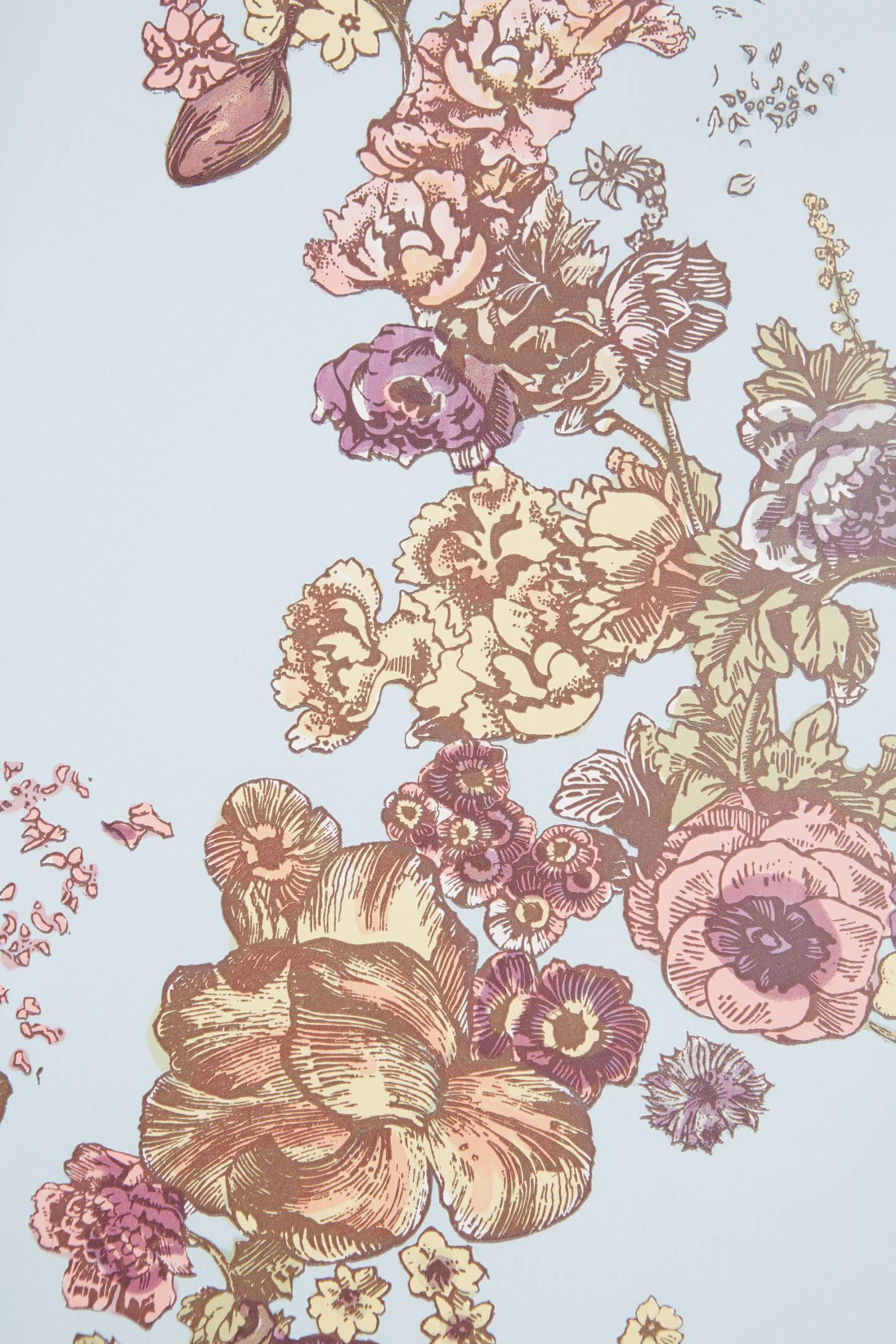 Winding Garland Wallpaper