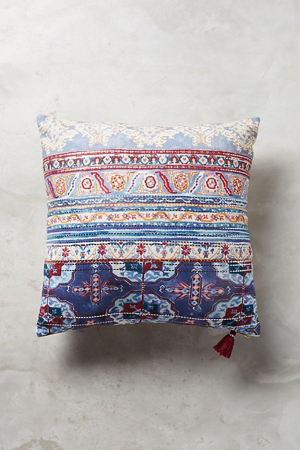 risa pillow anthropologie. Black Bedroom Furniture Sets. Home Design Ideas
