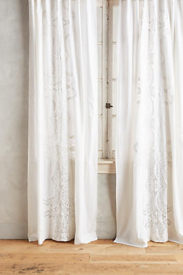 Embroidered Lacina Curtain