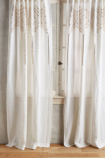 Linear Sequin Curtain