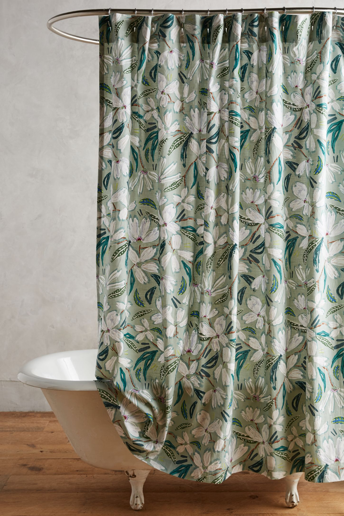 Anthropologie floral shower curtain - Anthropologie Floral Shower Curtain 15