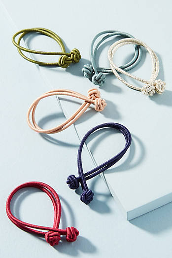 Knotted Hair Tie Set