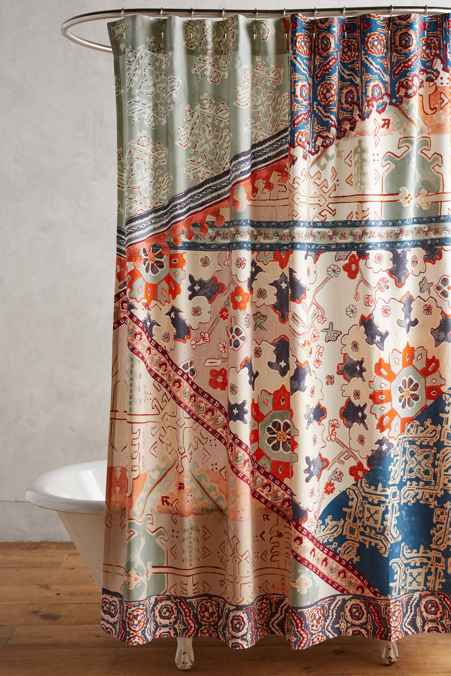 Double Shower Curtains Uk