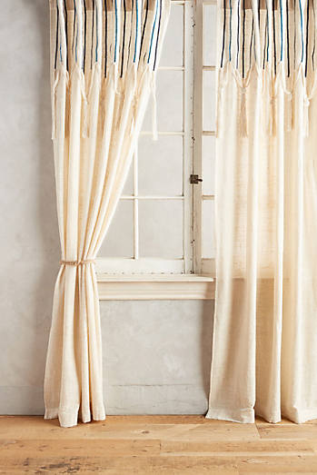 Embroidered Leighton Curtain
