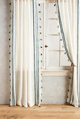 Slide View: 1: Fete Tassel Curtain