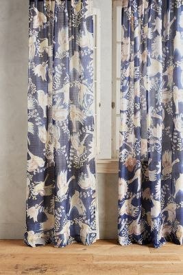 Odelina Curtain Anthropologie