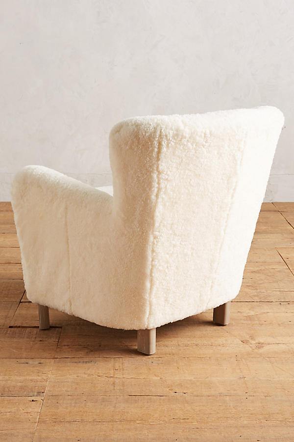 Slide View: 2: Wool Hartwell Chair