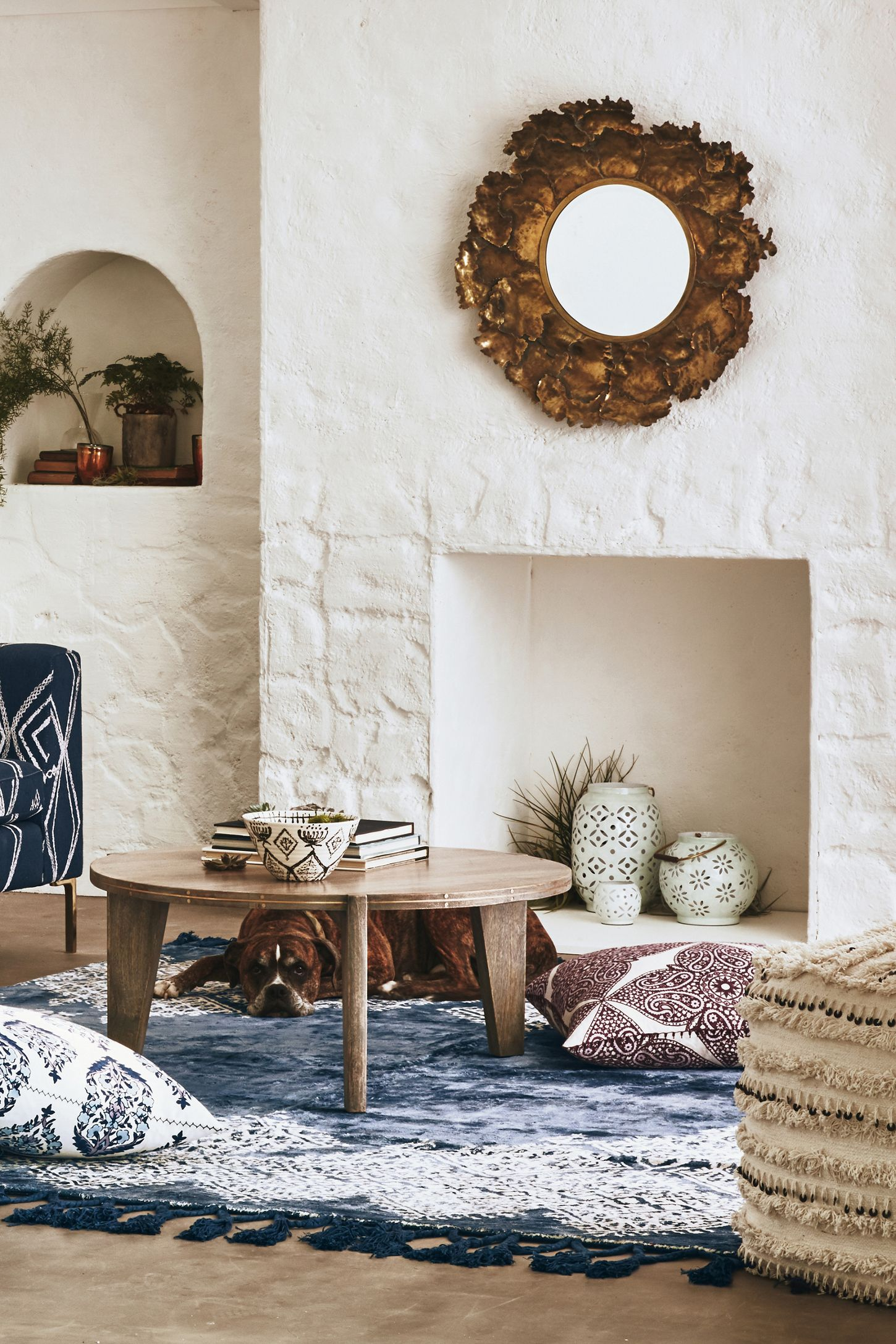 Autumn Leaf Mirror | Anthropologie