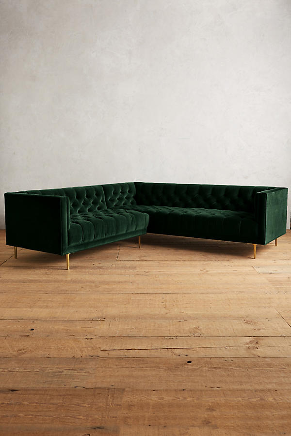 Slide View: 2: Velvet Mina Left Sectional