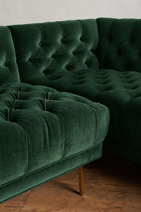 Slide View: 4: Velvet Mina Left Sectional