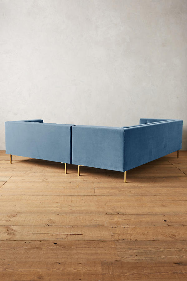 Slide View: 2: Velvet Mina Right Sectional
