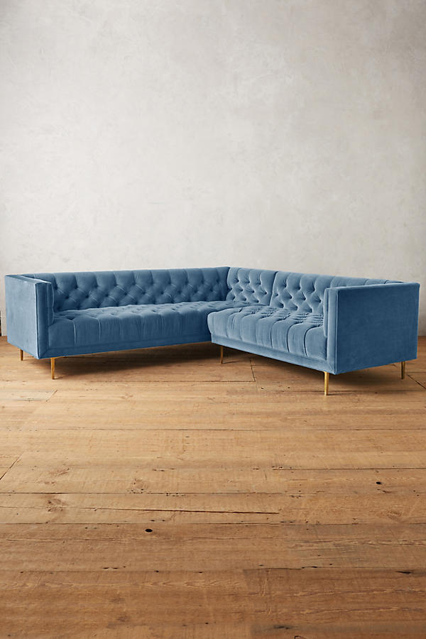 Slide View: 1: Velvet Mina Right Sectional