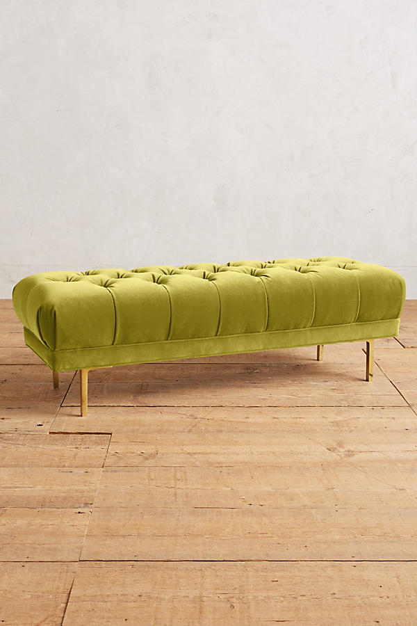 Slide View: 1: Velvet Mina Bench