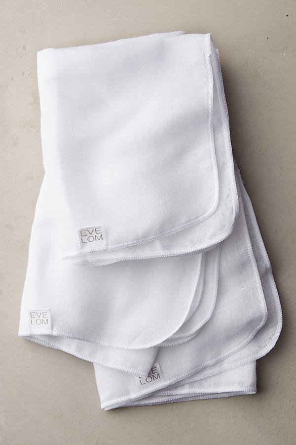 Slide View: 1: Lingettes nettoyantes Muslin Eve Lom