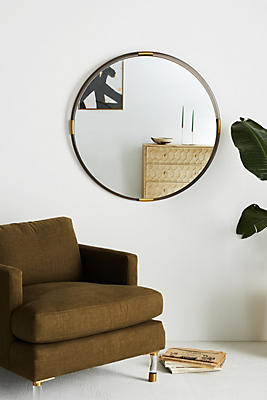 Slide View: 1: Brass-Capped Mirror