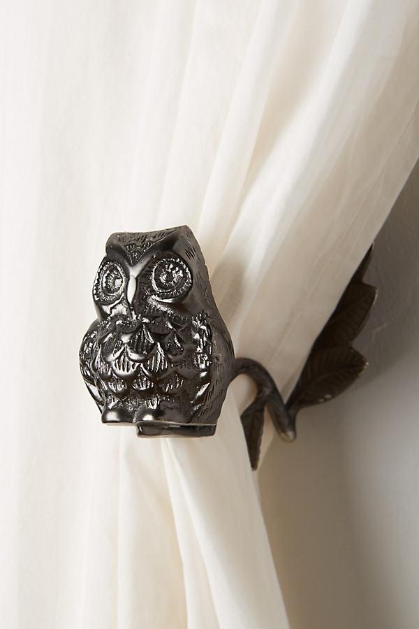 Wise Owl Curtain Tieback - Oxford