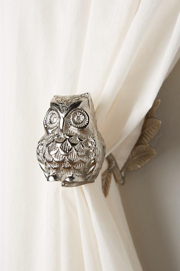Wise Owl Curtain Tieback - Pink