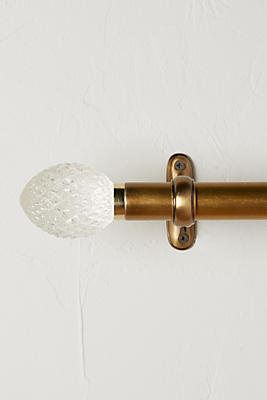 Slide View: 1: Quilted Glass Finials