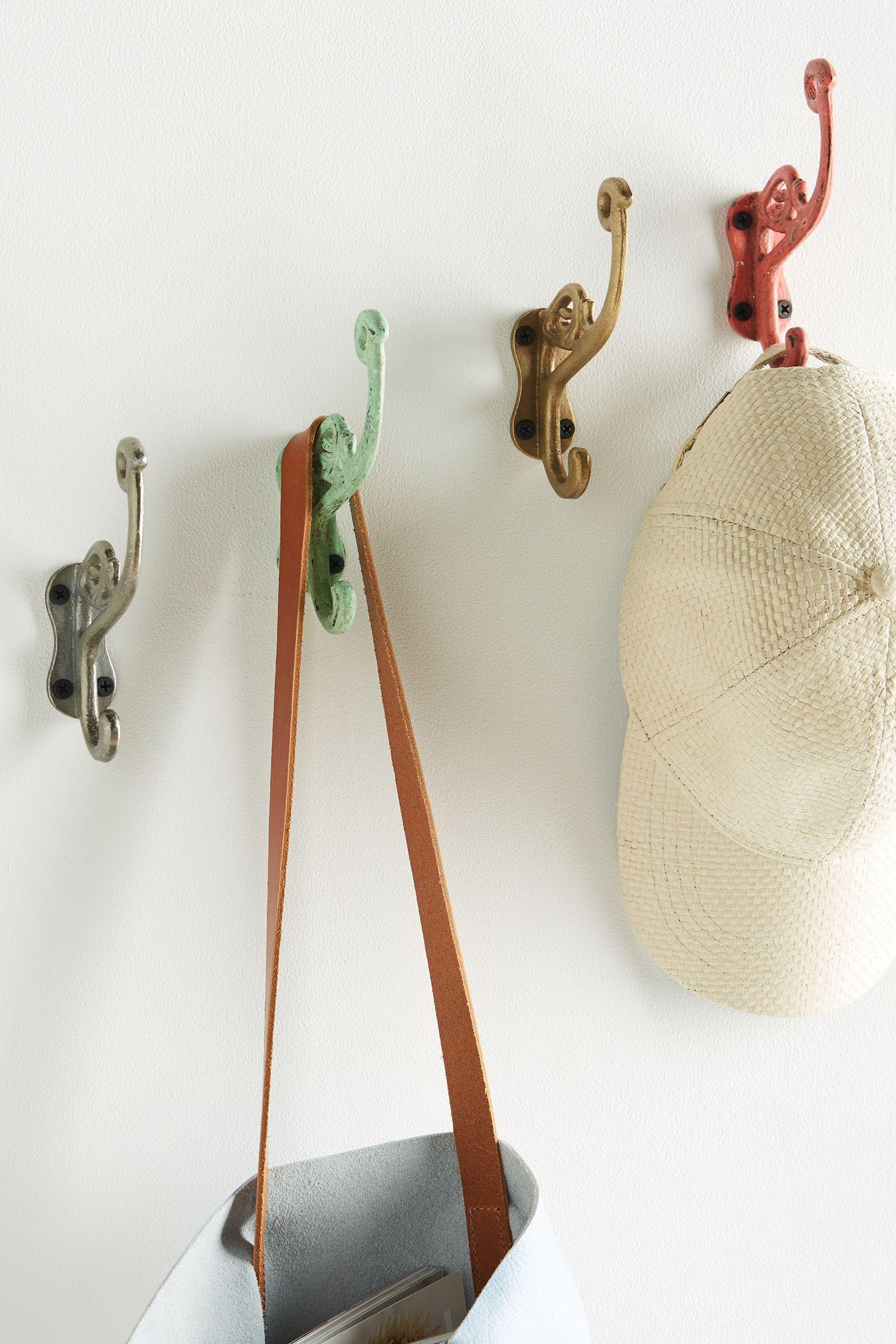 Red - Hooks | Decorative Wall & Coat Hooks | Anthropologie
