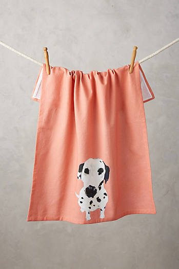 Dog-a-Day Tea Towel