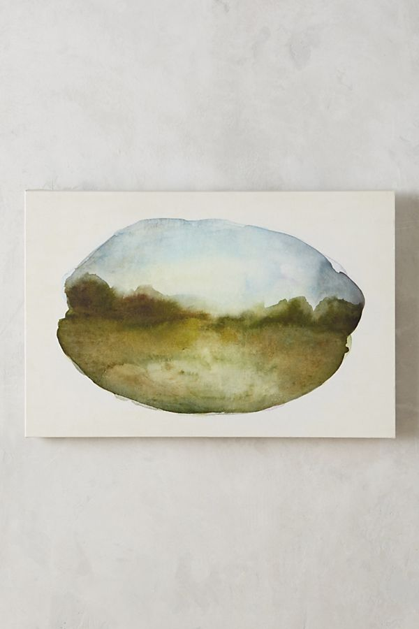 Scenic Droplet Wall Art | Anthropologie