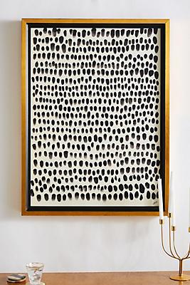 Slide View: 1: Pointillism Wall Art