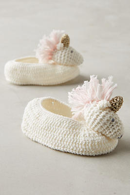 Slide View: 1: Crocheted Booties