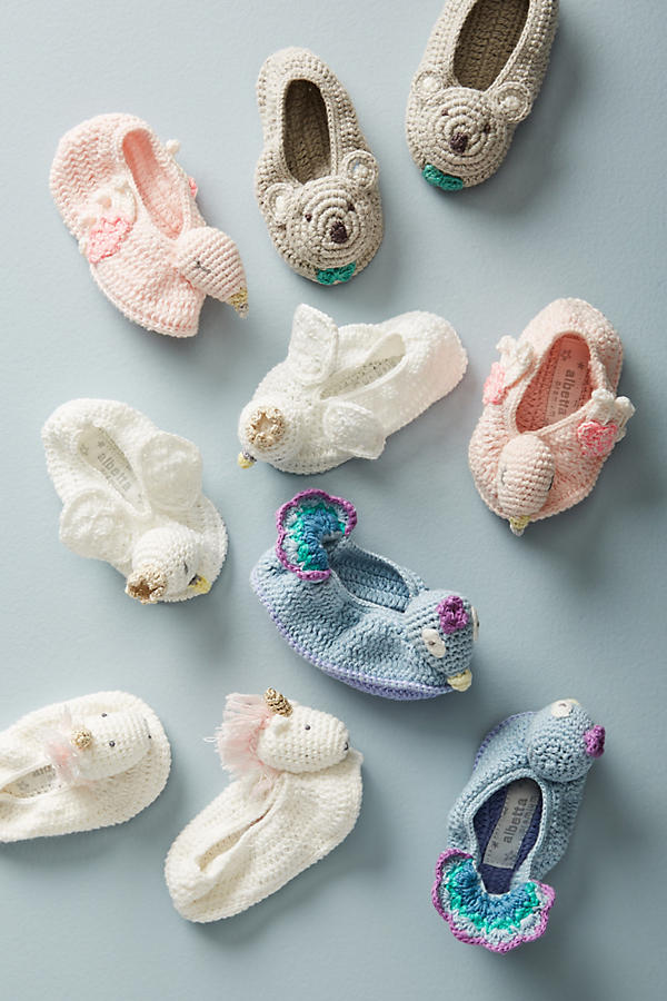 Slide View: 2: Crocheted Booties